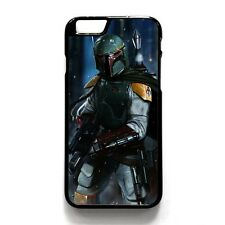 Star Wars Boba Fett Hard Phone Case Cover For iPhone 4/4s 5s/SE 5c 6/6s Plus