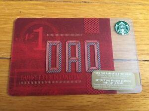"New No Value Canada Series Starbucks /""GARDENING 2015/"" Gift Card"