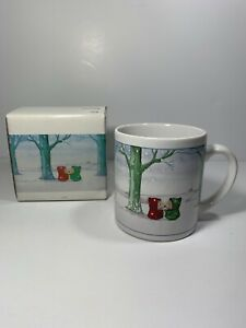 Winter Mouse Coffee Mug Recycled Paper Products With Box Ebay