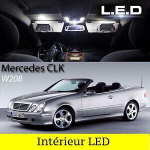 Kit-ampoules-a-LED-pour-l-039-eclairage-interieur-blanc-Mercedes-CLK-W208-Cabriolet