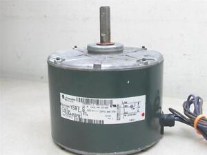 GE Motors 5KCP39BGY587S Condenser Fan Motor D154455P01 1/15HP 200-230V 825RPM