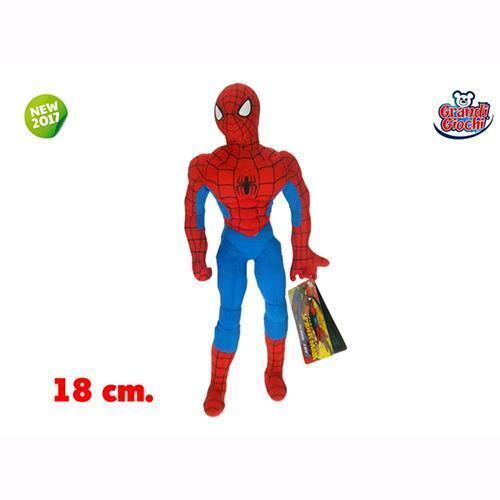 SPIDERMAN PELUCHE 18cm GG-01270