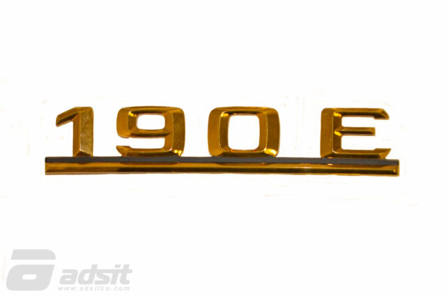 Genuine Mercedes-Benz W201 190 E Rear badge Trunk logo emblem A2018172015