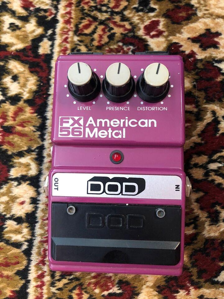 Pedal, DOD American Metal FX56