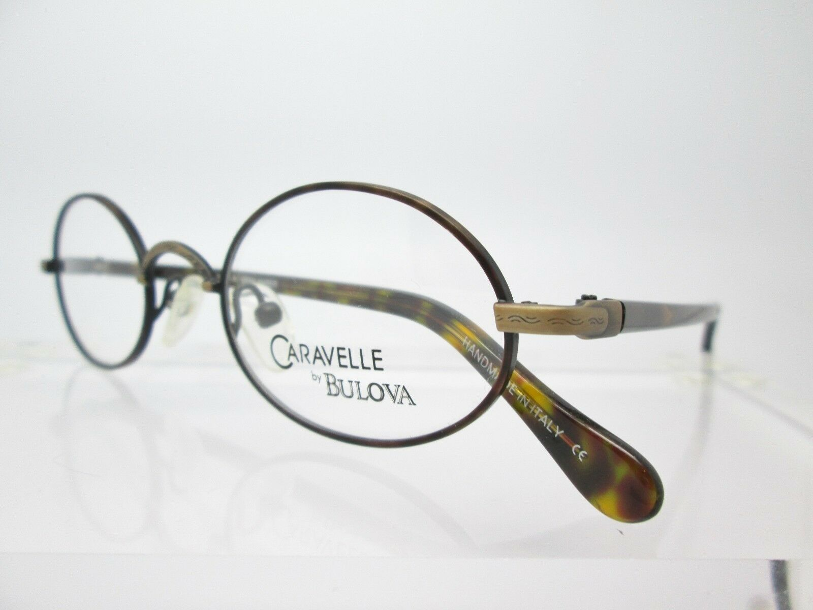 Caravelle by Bulova Manchester Demi Mens Womens Glasses Eyeglass ...