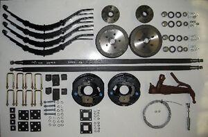 Trailer-axle-kit-tandem-2000kg-electric-brakes-dual-axle-car-box-spare-parts