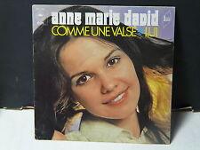 ANNE MARIE DAVID Comme une valse  EPC 1757