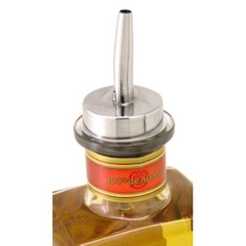 3x OVERSIZE LIQUOR POUR SPOUTS 1800 Large Rubber Cork 28mm 1.75 Half Gal Pourer