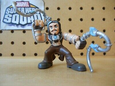 Marvel Super Hero Squad RARE WHIPLASH Whip Lash Brown Pants from Iron Man 2