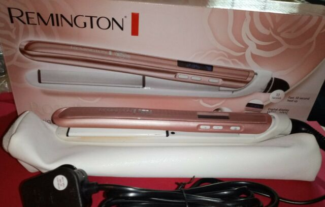 Remington Rose Luxe S9505 Iron Hair Pearl Pink Lining