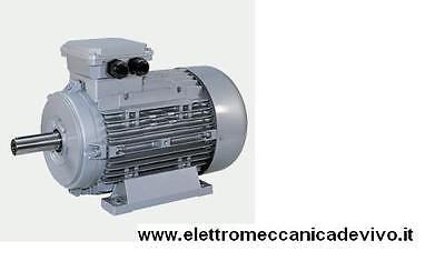 MOTORE TRIFASE 2,2 kW  3 HP 1400 GIRI B3  GRANDEZZA 100 VELA