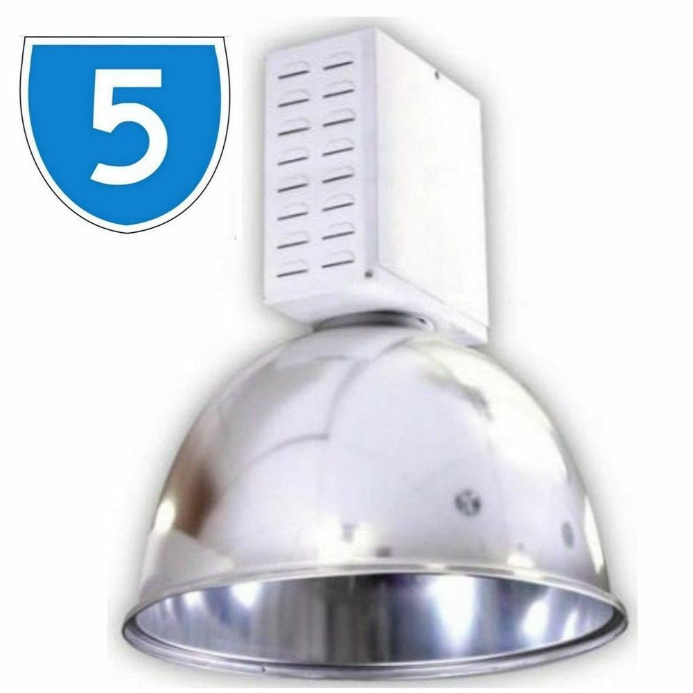 5x High Bay Industrial 250W Ceiling Mounted Factory Downlight Cover Lamp Spot