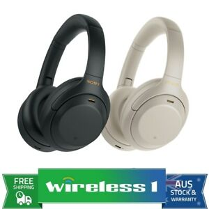 Sony WH-1000XM4 Wireless Noise Cancelling Headphones - Black / Silver