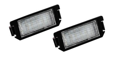 2x TOP LED SMD Kennzeichenbeleuchtung  Hyundai Veloster FS 104