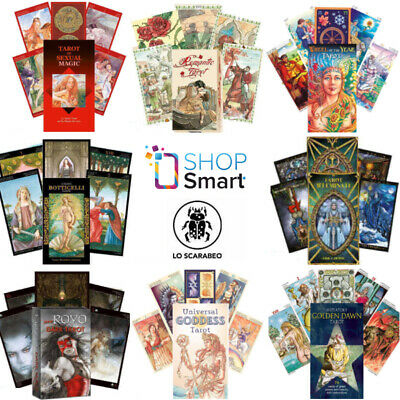 Tarot Cards Lo Scarabeo Deck Oracle Esoteric Fortune Telling New Ebay