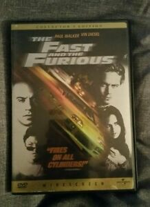 Brand-New-DVD-The-Fast-and-the-Furious-Paul-Walker-Vin-Diesel-Collector-039-s-Ed