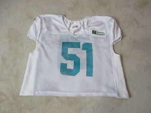 best website 555a1 1b32a NIKE Mike Pouncey Miami Dolphins Football Jersey Practice ...