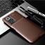 miniatura 10 - COVER per Xiaomi Redmi Note 10 / Pro CUSTODIA CARBONIO SLIM + VETRO TEMPERATO 9H