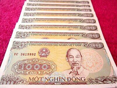 Vietnam Paper Money Vietnam Currency 25 Pcs 1000 Vietnamese Dong Each Ebay