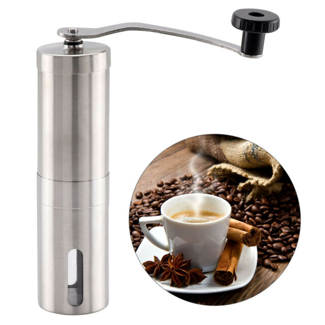 Firlar Premium Manual Coffee Grinder adjustable Ceramic Portable Stainless Steel