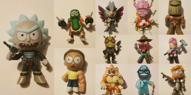 Funko Rick and Morty figures Funko Mystery Minis Collectibles 12pcs full set
