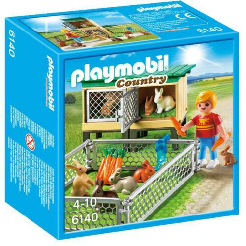 Rabbit Pen with Hutch 6140 Playmobil Country
