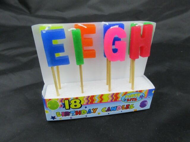 21st Happy Birthday Candle Cake Toppers Candles Twenty One 21