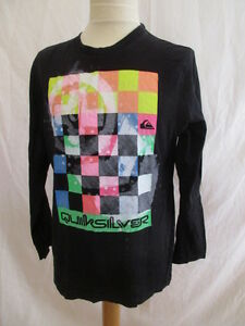 T-shirt-Quiksilver-Noir-Taille-10-ans-a-51