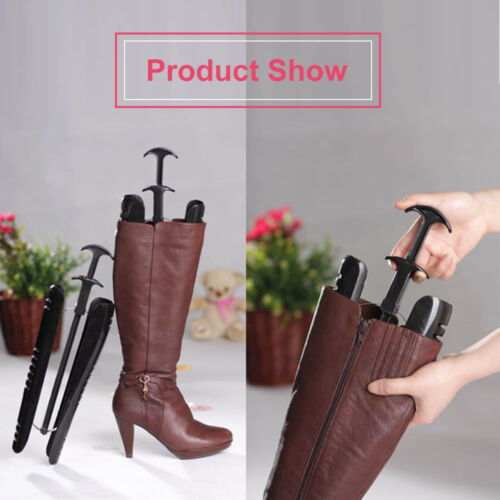 1 PAIR 12 1//2 Inch Boot Stand Holder Boot Stretcher Shaper Shoe Tree W// Handle