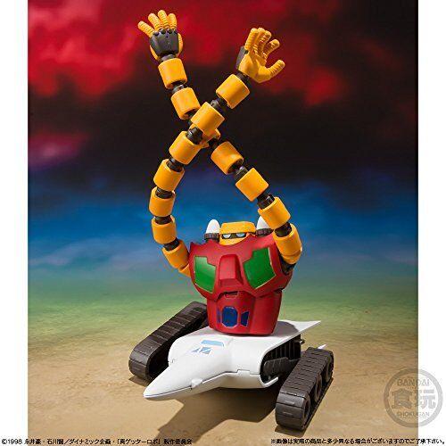 Getter Robo Armageddon Vol.1 3Pack Box Super Mini-Pla Candy Toy