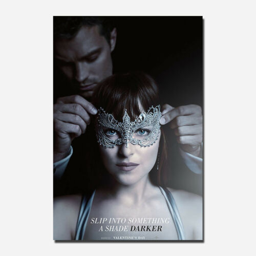 Fifty Shades Movie Wall Silk Poster Art Prints Picture Decor 12x18 24x36 inch