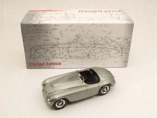 con 60% de descuento ART MODEL ART1001 - Ferrari 166 Spider Spider Spider Touring 1949 plata 1 43  nueva gama alta exclusiva