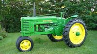 John Deere Model H Antique Tractor 24 X 43 Large Hd Wall Poster Print.