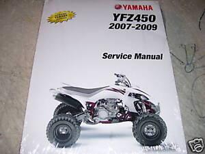 06 yfz 450 service manual