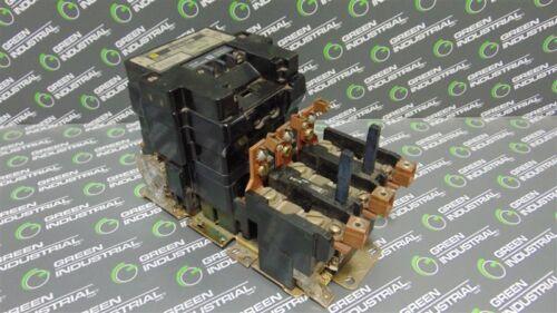 USED Square D 8536SEO1 NEMA Size 3 Motor Starter Contactor 120V Coil
