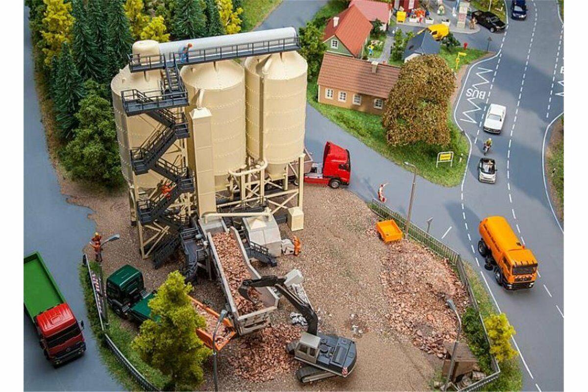 FALLER 130169 HO 1 87 Usine de ballast - Stone crushing plant
