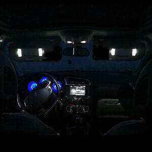 4-ampoules-a-LED-Blanc-miroir-de-courtoisie-pour-Peugeot-207-307-406-407-607-807