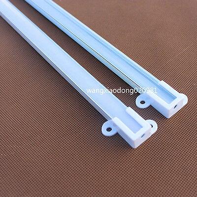 10pcs 0.5M U-Shape Aluminum Channel & Cover End Up for flex hard LED Strip #1