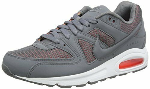 Haut femme Nike AIR MAX Command 397690 020 Gris/Blanc Course Gym Baskets UK 4.5-