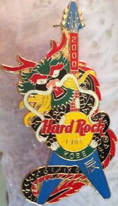 Hard-Rock-Cafe-KOBE-2000-Asian-New-Year-of-the-DRAGON-on-Guitar-PIN-HRC-3998