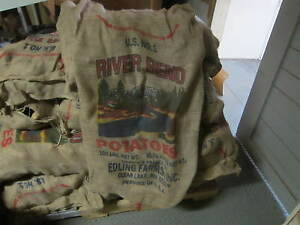 Burlap potato sack bag decorating racing great for sack Burlap bag decorating ideas