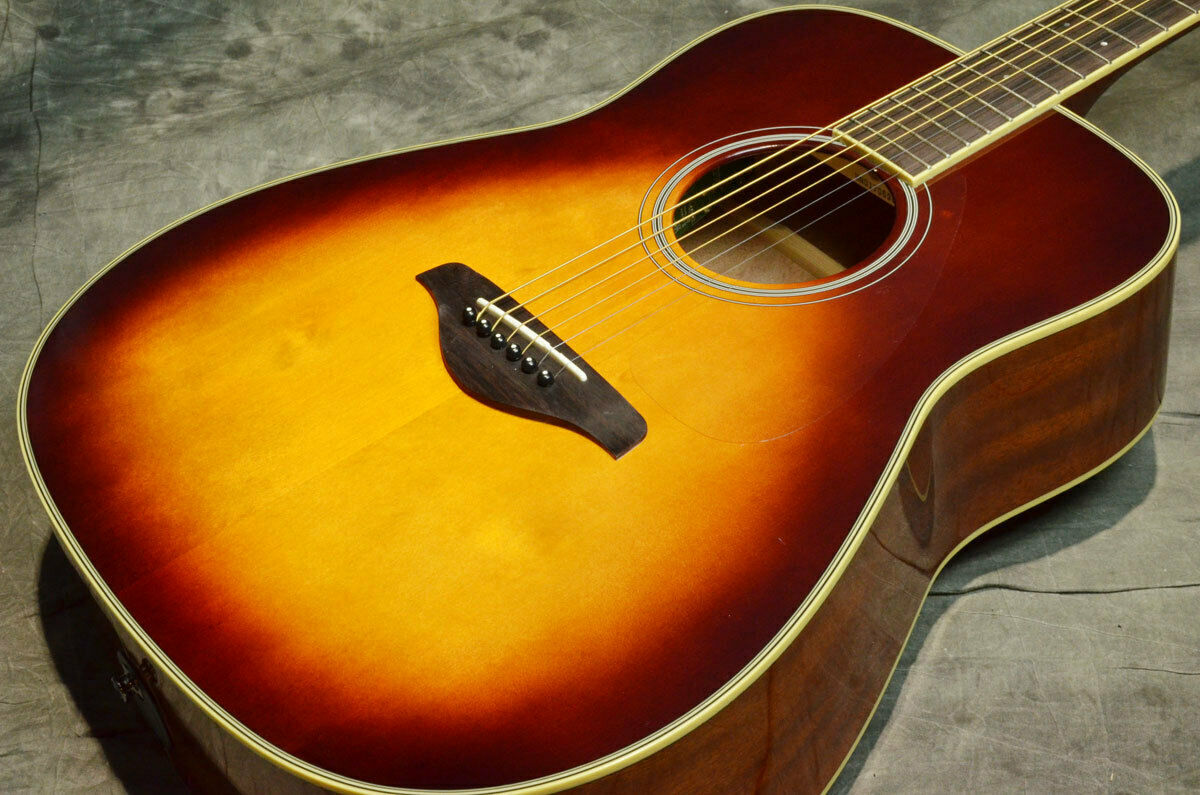 YAMAHA FG-TA braun Sunburst Japan rare beautiful vintage popular EMS F   S