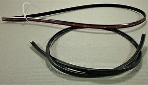 fits 2003-2008 NISSAN 350Z COUPE BLACK WINDSHIELD TRIM REVEAL MOLDING KIT in stk