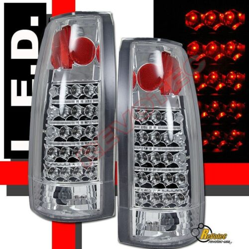 88-98 Chevy GMC C//K 1500 2500 3500 Sierra Pickup 92-99 Yukon LED Tail Lights
