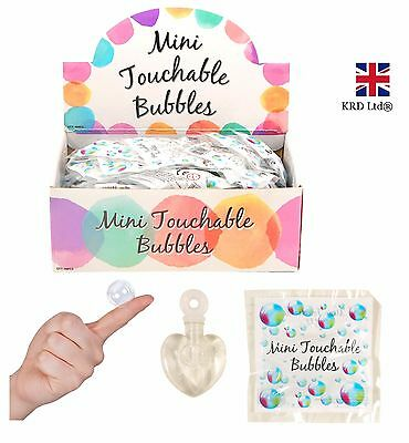 Mini Touchable Bubble Tubi Kids Party Bag Bomboniere Tavolo Decor Regalo Uk-mostra Il Titolo Originale