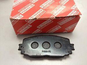 Toyota Brake Pads >> Details About Genuine Toyota Brakes 2008 2011 Corolla Brake Pad Kit Oem 04465 02240