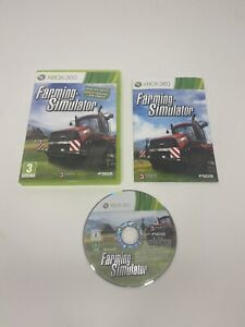 [PAL] Farming Simulator (Microsoft Xbox 360, 2013) Complete Tested And Working