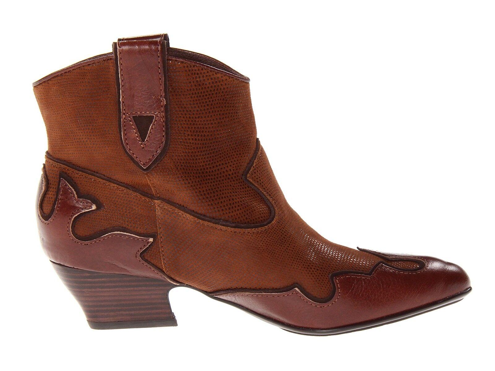 New Isola Odin Leder pull-on ankle Stiefel sz western Damens's sz Stiefel US 7 7cddab