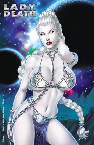 "Lady Death Gallery #1 /""Return of Lady Slave/"" NAUGHTY  Ltd Ed. Comic Book"