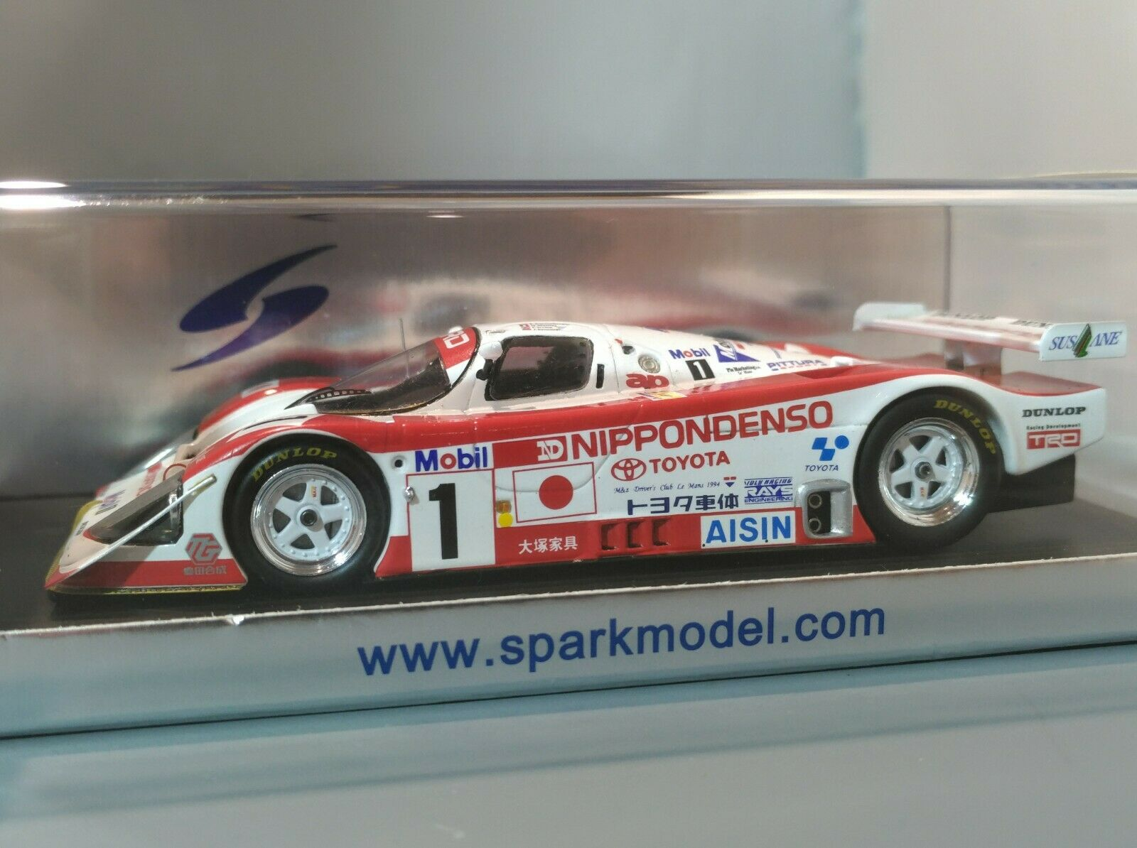 precios razonables Spark Spark Spark 1 43 Jugueteota 94CV 2nd Lemans 1994 Nippondenso ADRs groupc JSPC S1378  Raro   nuevo sádico